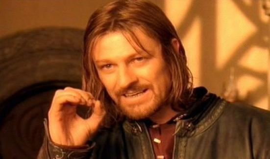 One does not simply... Imitate my name and not be a douche...